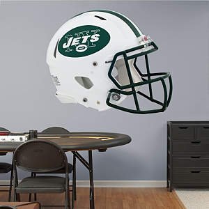 New York Jets Helmet Fathead Wall Decal